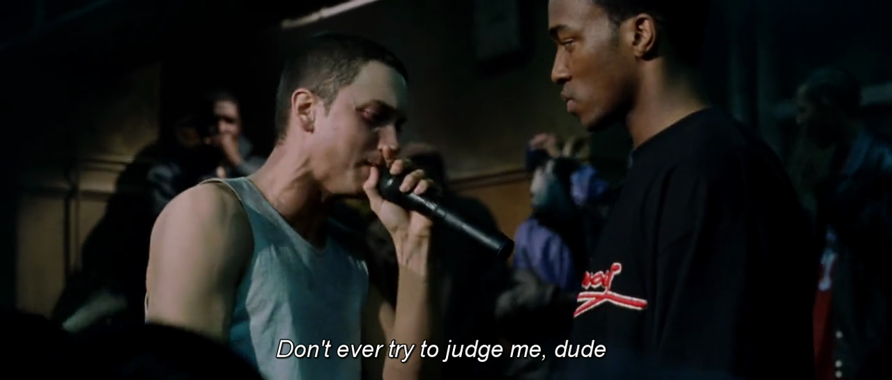 8 mile belonging Eminem's '8 mile' just turned 13 marv won takes us behind one of the film's most famous deleted scenes.